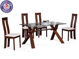 6 Seater Dining Table Dimensions In Cm Buy 6 Seater Glass Top Dining Table Online In India