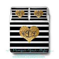 Black And Gold Crib Bedding Nursery Beddings White With Gold Accent Bedding Together With