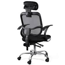 Executive Office Chairs Fabric Adjustable Chrome Executive Office Desk Computer Chair Mesh Seat