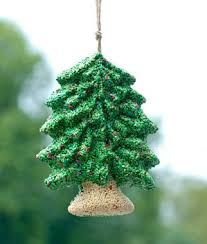 Bird Seed Decorations For Christmas Tree by Merry Christmas Tree Seed Wreath Gardening Gifts Holiday