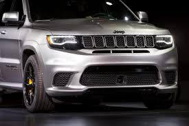 2018 jeep grand cherokee trackhawk price 2018 jeep grand cherokee trackhawk review first impressions and