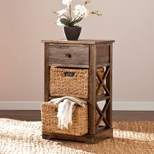 Laundry Room Basket Storage Jayton 2 Basket Storage Shelf