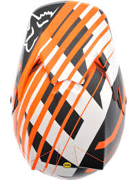 fox motocross helmets fox orange 2015 v3 savant mx helmet fox freestylextreme
