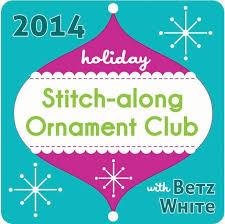 stitch along ornament club 2014 betz white