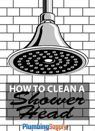 How To Clean Brushed Nickel Faucet How To Clean A Shower Head