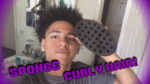 how to use the magic twist sponge to curl your hair youtube