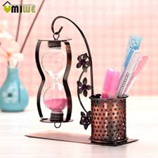 Hourglass Home Decor Office 10 2x Makeup Stationery Paper Board Pen Storage Box Desk