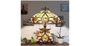 stained glass tiffany style table lamp giveaway