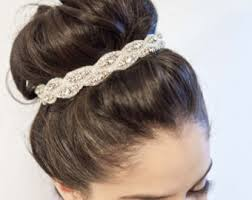 bun accessories bridal hair bun etsy