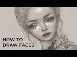 how to draw faces 30 days of art episode 9 youtube