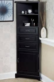 tall black linen cabinet impressive corner linen cabinet awesome tower foter regarding 15 for