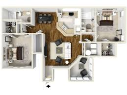 Two Bed Two Bath Apartment 2 Bed 2 Bath Apartment In Orlando Fl Park Central Belmont