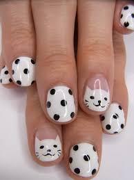 50 stylish polka dots nail art designs