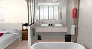 salle de bains dans chambre stunning chambre avec salle de bain verriere ideas of salle de