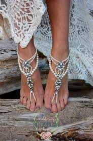 wedding barefoot sandals wedding barefoot sandals pearl barefoot sandals bridal