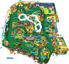 Florida Attractions Map Park Information Adventureland