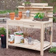 Merry Garden Potting Bench by Lawn Garden Charming Cedar Potting Bench Garden Potting Bench