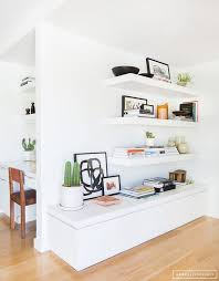 Floating White Shelves by Like The Idea Of Floating Shelves 1 To Put Above The Kitchen