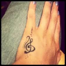 hand music cross tattoos design idea for men and women
