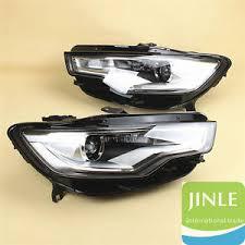 audi a6 c7 problems pair l r xenon hid headlight parts l convex lens light for