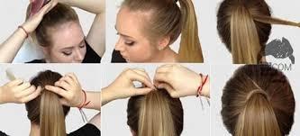 tutorial menata rambut panjang simple model dan cara mengikat menata rambut sendiri di rumah