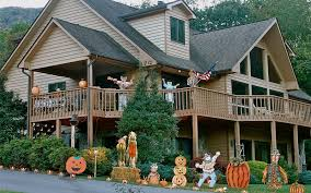 decorating your house decorating engaging autumn themed halloween decorations for your