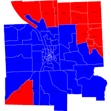 2004 Presidential Election Map by Living In Dryden A Tale Of Two Maps