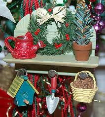 dirt therapy garden themed ornaments