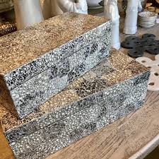 crackle u0026 shimmer mother of pearl boxes two sizes u2013 laurier