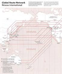 Dulles Terminal Map Global Routes Fleet And Terminal Maps For Air Canada Travel Codex