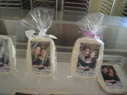 wedding favors personalized photo bake shop unique personalized cookie wedding favors