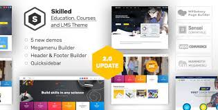 themes builder 2 0 skilled school education courses wordpress theme by aislin