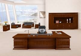 Office Desk Executive Top Quality Classic Office Furniture Presidential Desk Hy 鸿业9号
