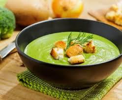 recette cuisine vapeur soupe moulinée de brocolis facile au cuiseur vapeur recette
