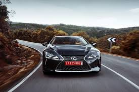 dark green lexus lexus lc500 2017 first drive with video cars co za