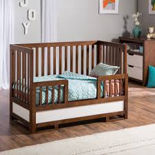 Toddler Rail For Convertible Crib Baby Attractive Toddler Bed Rails With Brown Cabinet And