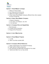 profile and pre qualification of wood master june in 2016