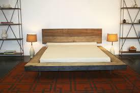 diy platform bed hideaway platform bed frame for that rusticbeach