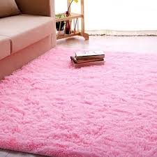 Pink Area Rug For Nursery Ultra Soft 4 5 Cm Thick Indoor Morden Area Rugs Pads Nursery