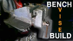 plate steel bench vise build part 1 of 4 with the everlast