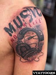 headphones tattoos google search tattoo ideas pinterest