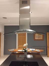 elica iceberg island 100 stainless steel kitchen cooker hood in
