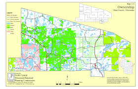 Land Ownership Map Vilas County Comprehensive Planning