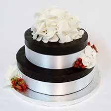 2 tier chocolate whiskey wedding cakes chocolate ganache wedding