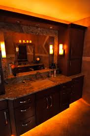 Under The Cabinet Lights by Led Lights Under The Bathroom Vanity Great Idea