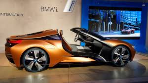 Bmw I8 Mirrorless - bmw live from ces with doorless i8 vision future interaction