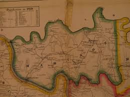 Madison Ohio Map by Ancestor Tracks Armstrong County Landowner Map 1861