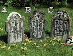 grim reaper gravestone with moss 56cm tombstone us76182c