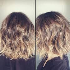 medium length hair with ombre highlights 20 wavy bob hairstyles for short medium length hair