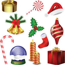 Movable Christmas Decorations by Christmas Decorations Clipart Clip Art Library